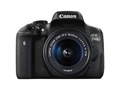 Picture of CAMERA CANON EOS 750D+SD 24.2MP