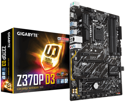 Picture of MB Z370P GIGABYTE D3 1.0