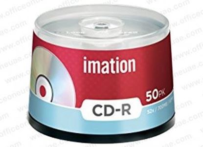 Picture of CD-R IMATION BOX 50 700MB 80MIN